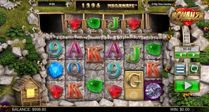 Bonanza kolikkopeli Megaways-versio
